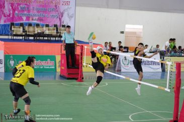 Vietnamese national player spiking for Khon Kaen