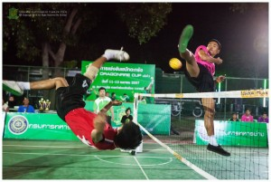 Club level takraw teams in Thailand o_O