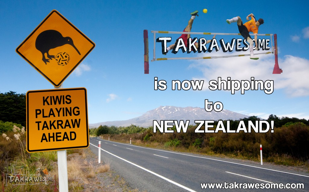 Kiwi Takraw!