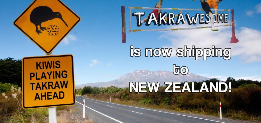 Now selling to Kiwi-land!