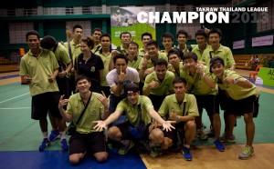 The Ratchaburi Takraw Club - 2013 TTL Champions!